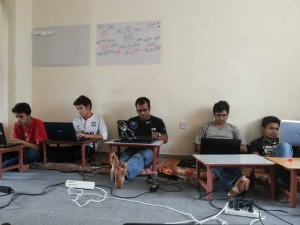 Open Spending Data Party at Kathmandu